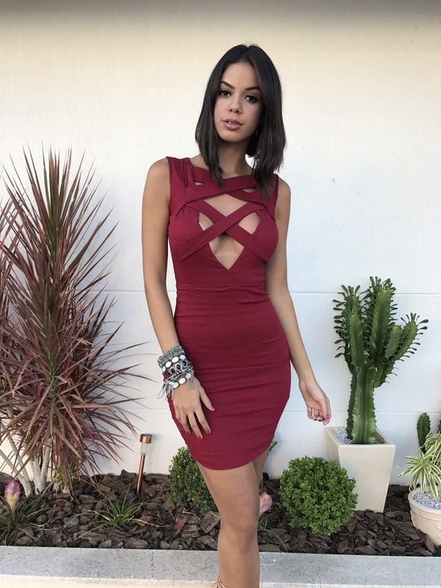 Vestido Double Xiz Red on internet