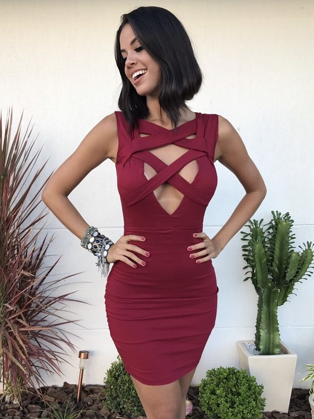 Vestido Double Xiz Red
