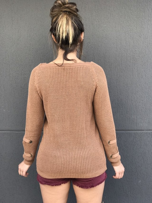 Blusão Tricot Chocolate - buy online