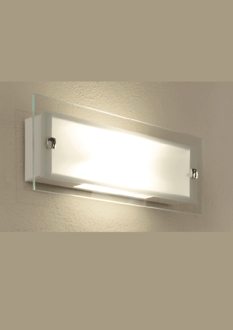 Aplique rectangular LED 12W