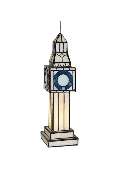 Big Ben Tiffany 1 Luz Apto LED - comprar online
