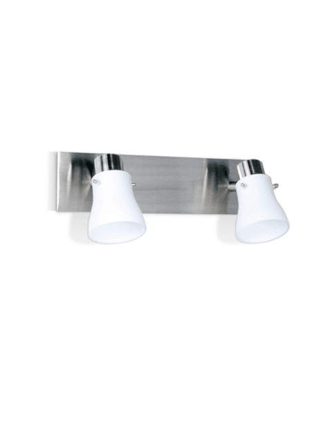 Aplique Cook de 2 luces - Apto LED