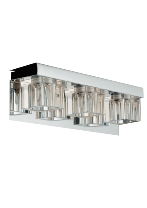 Aplique Delco cristal 3 luces Apto LED en internet