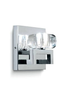 Aplique Glass de 1 luz - Apto LED