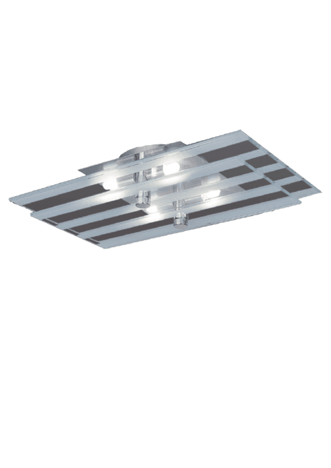 Plafon Nucia 4 luces apto LED