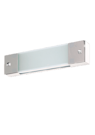 Aplique rectangular 2 luces Apto Led