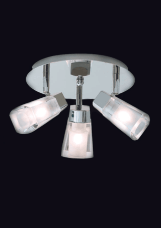 Plafon Virgo 3 luces Apto LED