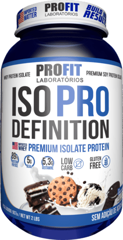 ISO PRO DEFINITION - 907G - PROFIT LABS na internet