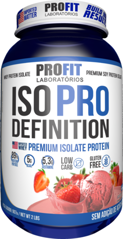 ISO PRO DEFINITION - 907G - PROFIT LABS - fit&healthy