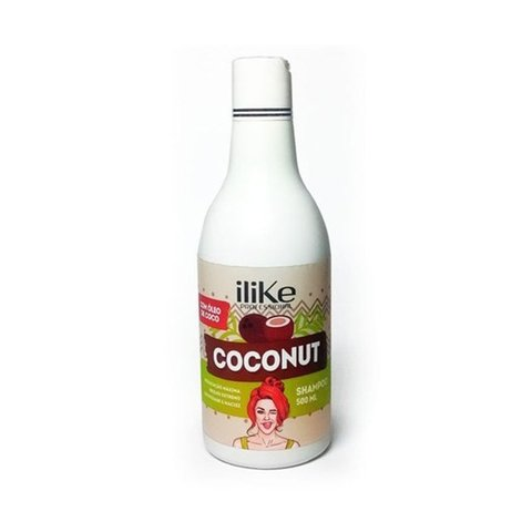 I LIKE-  Coconut Shampoo Nutritivo - 500ml