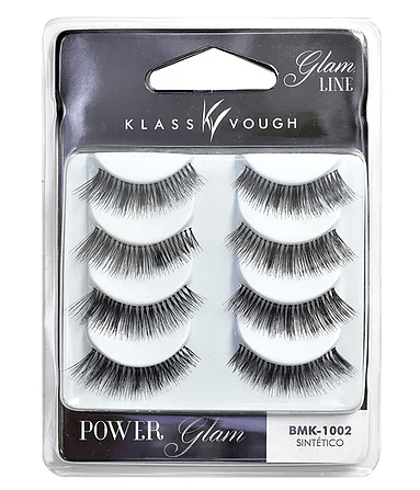 KLASS VOUGH - Cílios Glam Line Sintético (POWER Glam) BMK-1002
