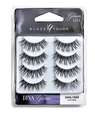 KLASS VOUGH - Cílios Glam Line Natural (DIVA Glam) BMK-1832