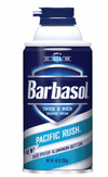 Espuma de barbear Pacific Rush BARBASOL 283 g