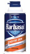 Espuma de barbear Sensitive Skin BARBASOL 283 g