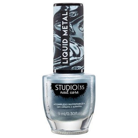STUDIO 35 - Esmalte Liquid Metal #Cometahalley 9ml