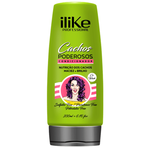 I LIKE- Cachos Poderosos Condicionador Co-Wash - 200ml