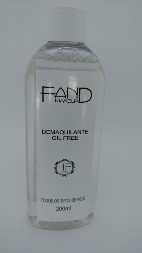 FAND MAKE UP - Demaquilante Oil Free Fand Makeup Todos os tipos de pele 200ml