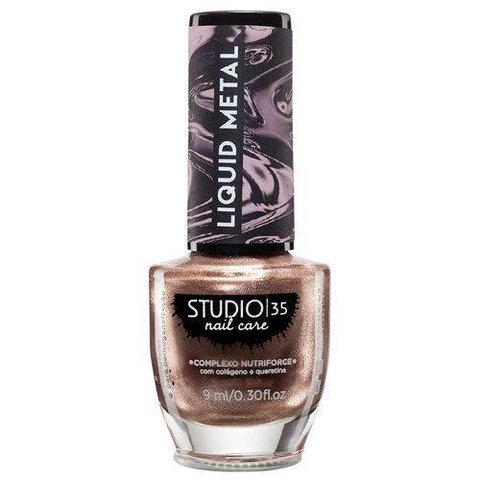 STUDIO 35 - Esmalte Liquid Metal #Explosãobronze 9ml