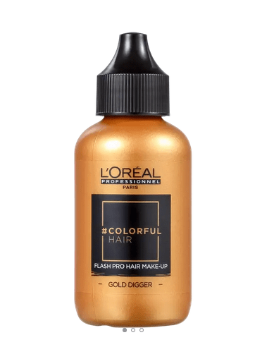 LOREAL PROFESSIONEL -  Coloração Semi Permanente ColorFul Flash Gold Digger 60mL