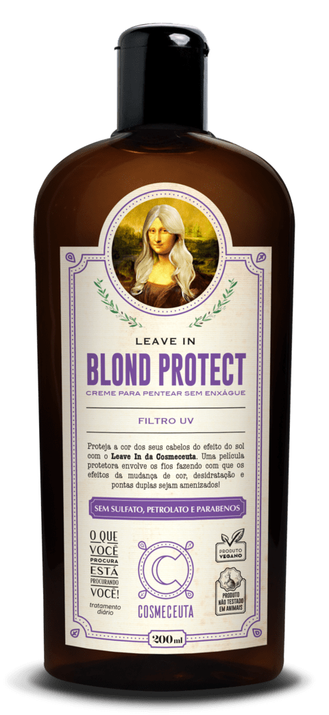 COSMECEUTA (Linha Vegana) -  Leave In Blond Protect 200ml
