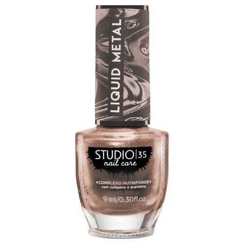 STUDIO 35 - Esmalte Liquid Metal #Ourochampgne 9ml
