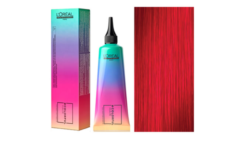 LOREAL PROFESSIONEL -  Coloração Semi Permanente ColorFul Hair  Red 90mL