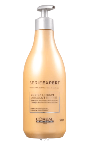 LOREAL  PROFESSIONEL -  Shampoo Professionel Expert Absolut Repair Cortex Lipidium 500mL