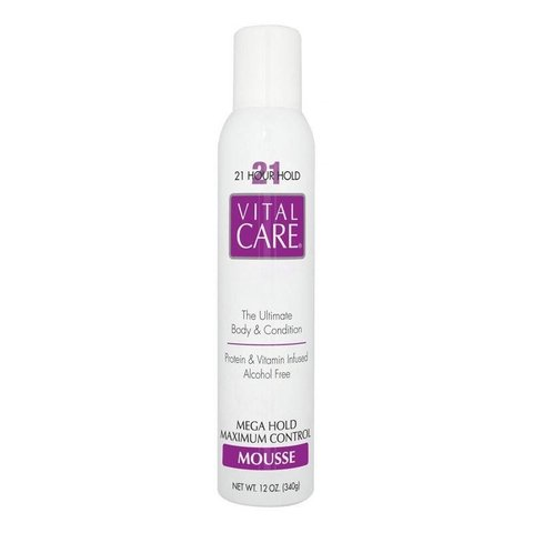 VITAL CARE - Mousse Mega Hold Maximum Control 21 horas - 340g - comprar online