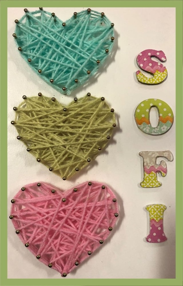 SET X 10 TABLITAS para string art CORAZONES 20x30 - SIGALALANA