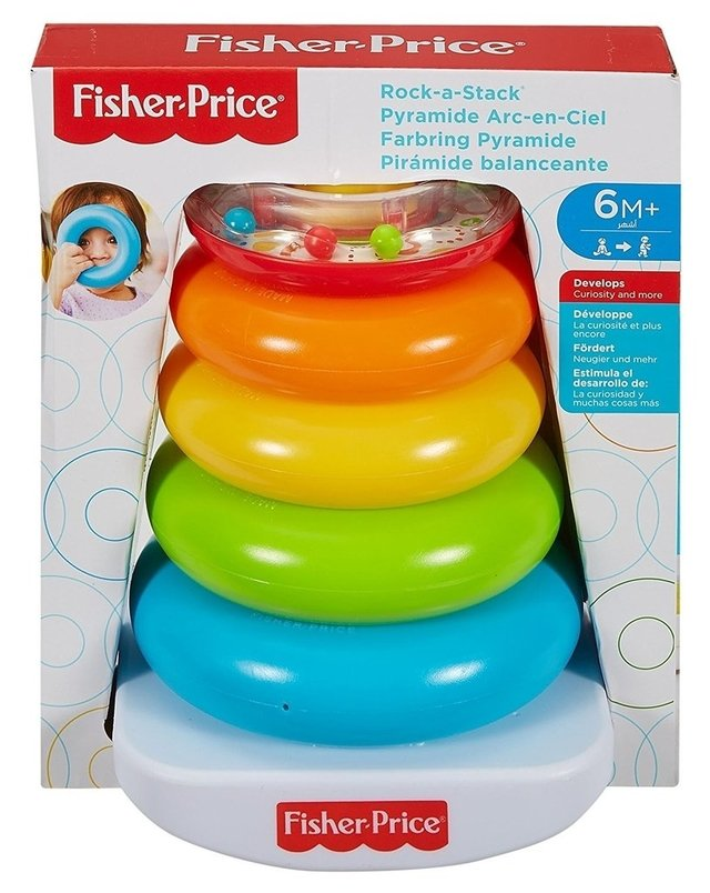FISHER PRICE- Piramide de Argolas