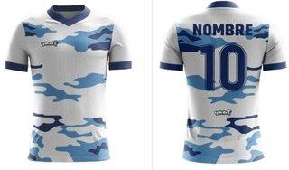 db96a51c8d866 Camiseta Yakka Diseña Pedido Futbol Nombre Numerada Pack 10