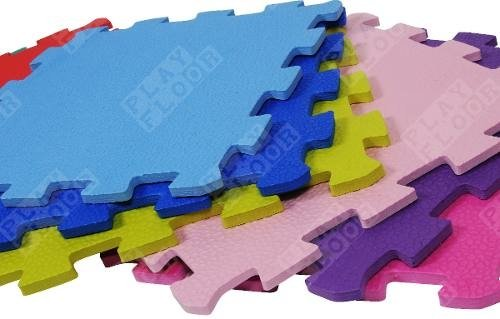 Pisos Goma Eva Encastrables  30x30x  10 mm X 10 Unid Art.10 - Playfloor