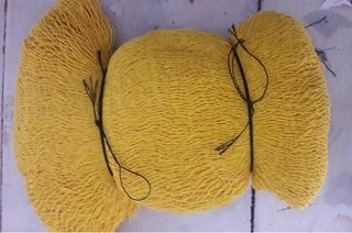 Hamaca mexicana yucateca tipo maya color amarillo