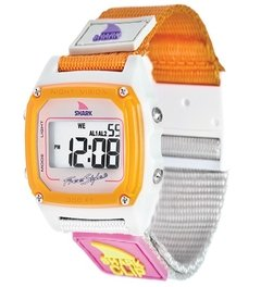 SHARK CLASSIC CLIP ® TAUPE/NEON / FREESTYLE WATCH (TM)