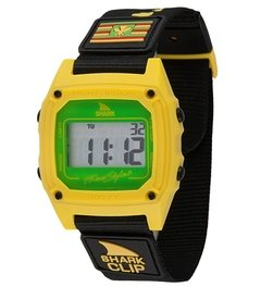 SHARK CLASSIC CLIP ® BLACK/YELLOW / FREESTYLE WATCH (TM)