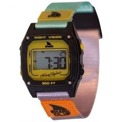 SHARK CLASSIC CLIP ® TURQ/BLK/MUSTARD / FREESTYLE WATCH (TM)