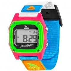 SHARK CLASSIC CLIP ® BLACK/NEON / FREESTYLE WATCH (TM)