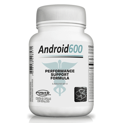 Android 600 - 60 Cápsulas 600mg - Power Supplements - comprar online