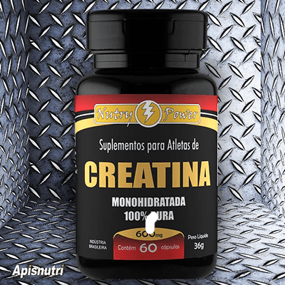 Creatina Monohidratada 60 cápsulas Nutry Power