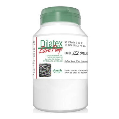 Dilatex Extra Pump 152 Cápsulas Power Supplements - comprar online