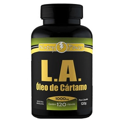 Óleo de Cártamo LA 120 cápsulas 1000mg Nutry Power