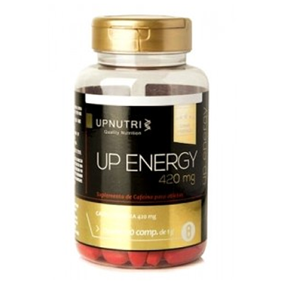 Up Energy  (Cafeína Pura) 50 Cápsulas 420mg Upnutri