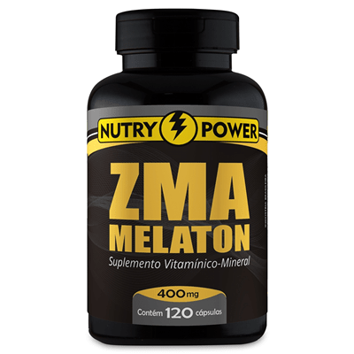 Pró Melaton ZMA 120 cápsulas 120mg Nutry Power