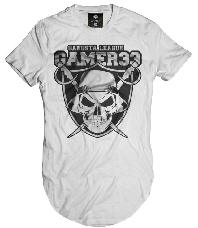 Camiseta Longline Oversized Oakland Mafia League Gamer 33 na internet