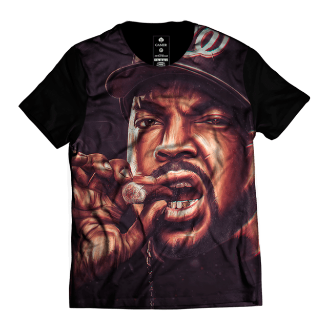 Camiseta Ice Cube NWA Oldschool Rap Top Gamer 33 - comprar online