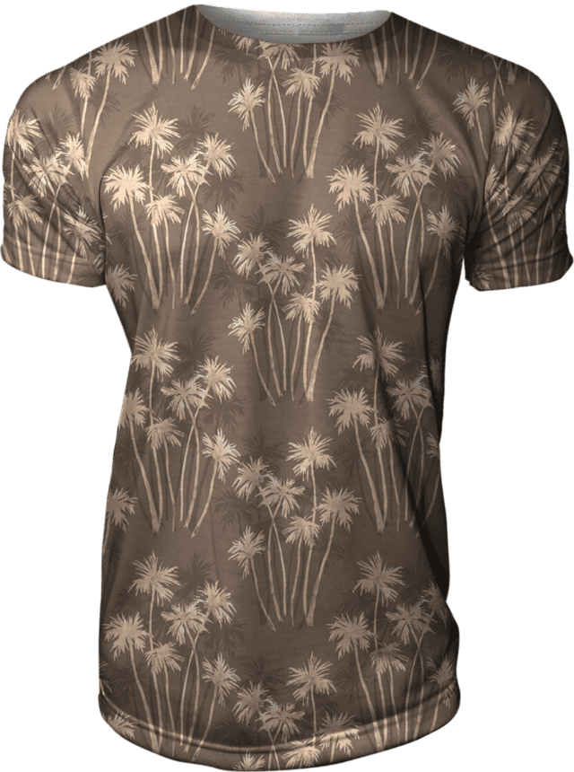 Camiseta Estampada Texture Palms Swag Gamer 33