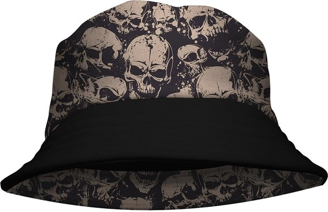 Chapeu Bucket Hat Bad Skull Gamer 33 loja hdr