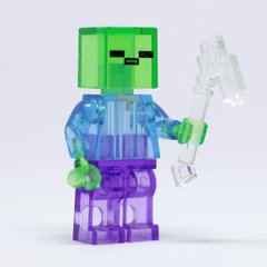 MINECRAFT - 8 PERSONAGENS (KIT 04 - TRANSPARENTE) - comprar online