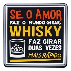KIT PORTA COPOS AMOR VS WHISKY