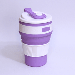 COPO ECO-FRIENDLY (SILICONE COM TAMPA) 350 ML na internet